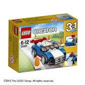送料無料 レゴ クリエイター 31027 レースカー ブルー LEGO レゴブロック 知育玩具 子供 男の子 女の子 指先の発達 積み木 つみき プレゼント 【TC】【16継続】【取寄品】