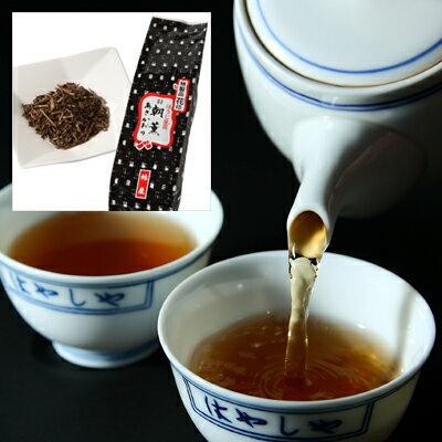 ほうじ茎茶 / 朝薫 花印(200g袋)【京はやしや/金沢/ほうじちゃ/棒茶/あさかおり】