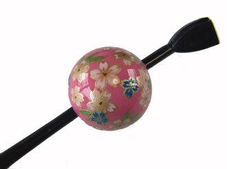 Beijing Jade Hairpin (lacquer type, Jade Hairpin) peach / Kozakura ★ kuroneko non ★