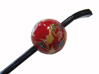 Beijing Jade Hairpin (lacquer type, Jade Hairpin) Red / crane ★ reviews fill in 3% off!!