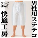 It is ... New Gunze (GUNZE) [comfortable studio] long underwear [long underpants (long underpants)] (L M, LL) [email service correspondence is OK] from a crested kimono haori hakama (bridegroom apparel) to the yukata bottom