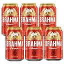 【6月中旬入荷】【お買い得】ブラーマ チョップ(BRAHMA CHOPP) 缶ビール 350ml×6本セット【あす楽対応】【CERVEJA PILSEN BRAHMA】【ブラジル産 ビール おすすめ】【ブラジル ブラマ ビール 激安】