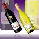 【チリ産】かわいいアルパカロゴ入り本格チリワイン紅白2本セットが【送料無料】激安特価で!!贈答品・ギフトに♪