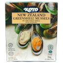 パーナ貝(片貝殻付き) 冷凍ニュージーランド産 KOYO 1kg【あす楽対応】