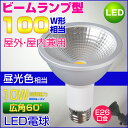 LEDビーム電球 100W相当形 屋外・屋内兼用 PAR30 ビームランプ型 E26口金 昼光色 10W 防雨型 ビーム球型 防水タイプ 激安