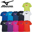 【メール便発送】ミズノ Tシャツ 半袖 ビッグRBロゴ 32JA8155 男女兼用 ランニング ジョギング トレーニング ウェア テニス バトミントン 野球 サッカー