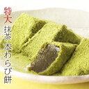 【お中元ギフト】特大抹茶本わらび餅630g