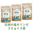 石垣の塩 モリンガ 35g ×3袋 沖縄産 石垣島モリンガ 調味用 送料無料