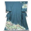 Semi-Formal Kimono - 【手縫い仕立て付き フルオーダー】「たたき染め」 花模様 ボカシ 丹後ちりめん 訪問着