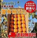 """京都大枝の""""わけあり富有柿"""" 5kg   【送料無料】 サイ..."""