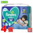 ショッピングパンパース P&G パンパースさらさらケア 夜用パンツ / スーパージャンボ ビッグ34枚(12-22kg) ×4個