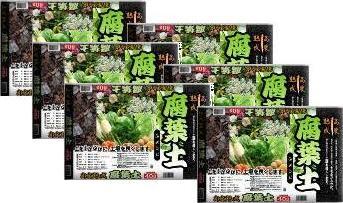 高度熟成腐葉土40L腐葉土6本セット用土園芸土壌改良土本州・四国・九州地区限定送料無料
