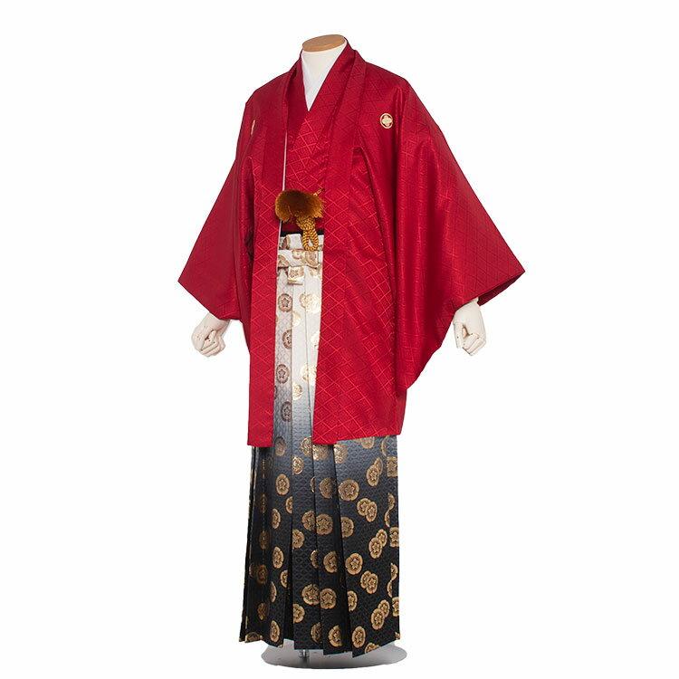 【レンタル】紋付袴 レンタル / 赤柄袴(7r0...の商品画像