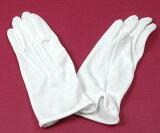 【メール便可】【メンズグローブ】メンズ手袋 ポリエステル 白【フォーマル 紳士】【あす楽】【RCP】