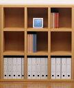 ラチスシリーズ 書棚 シェルフ 国産110幅 棚板厚35mm 4色有りナチュラル完成品