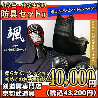 """Hayato (Hayate)"" 6 mm mechanical stab armor set"