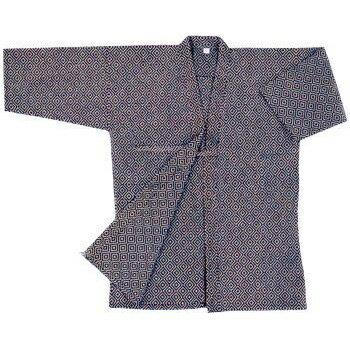 紺江戸刺剣衣
