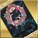 とってもおしゃれな京袋帯♪   おしゃれな着物にぴったり!【うさぎのクリスマス】【最安値に挑戦】