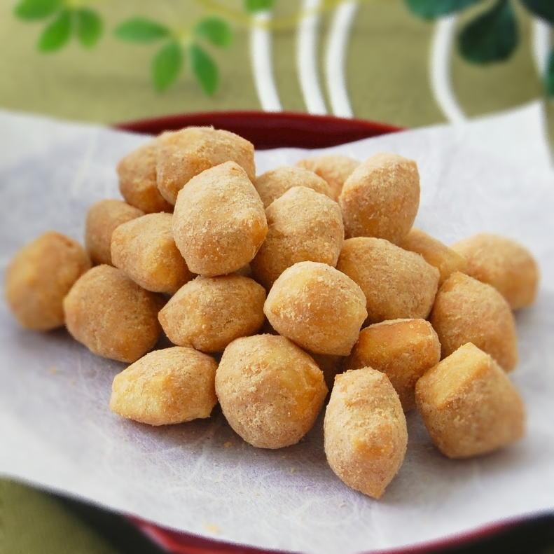 特別栽培米「ヒヨクモチ」のあられと北海道産大豆「...の商品画像
