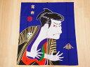 【日本のおみやげ】日本の和風のれん【写楽】【浮世絵シリーズ】※上部にに棒を通す輪があります。