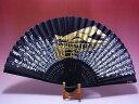 【日本のおみやげ】◆絹扇子 【清水寺】(絵柄扇子)「掛扇別売り」