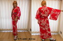 日本のお土産|日本のおみやげホームステイ おみやげ|日本土産◆外国人向け浴衣【桜】女性用(S〜L)