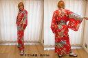 【日本のおみやげ】◆外国人向け着物【桜王朝】女性用(フリーサイズ)