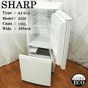 【中古】614B SHARP/SJ-614/135L冷蔵庫/...