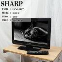 【中古】SHARP/19V型液晶テレビ/LC-19K7/BS...