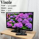 【中古】Unitech/Visole/LCU2406V/24V型液晶テレビ
