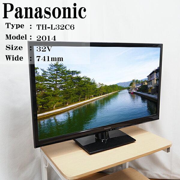 【中古】Panasonic/32V型液晶テレビ/TH-L32C6/BS/110度CS