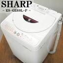 【中古】SB-ESGE60LP/洗濯機/6.0kg/SHARP/�