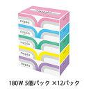 送料無料 ネピア プレミアムソフト ティッシュペーパー 5箱×12パック 00191