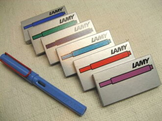 Lamy fountain pen for ink cartridge LT10 5 pieces