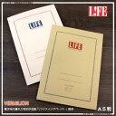 LIFE【ライフ】バーミリオン A5ノート(方眼 横罫)特別抄造紙の書き心地を是非!