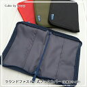 cubix by w・c・pラウンドファスナー式ブックカバー文庫本サイズのブックカバーやほぼ日手帳カバーとしても◎