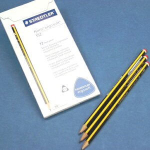 STAEDTLER【ステッドラー】ノリス エルゴソフト三角軸 鉛筆(HB) 1ダース(12本)