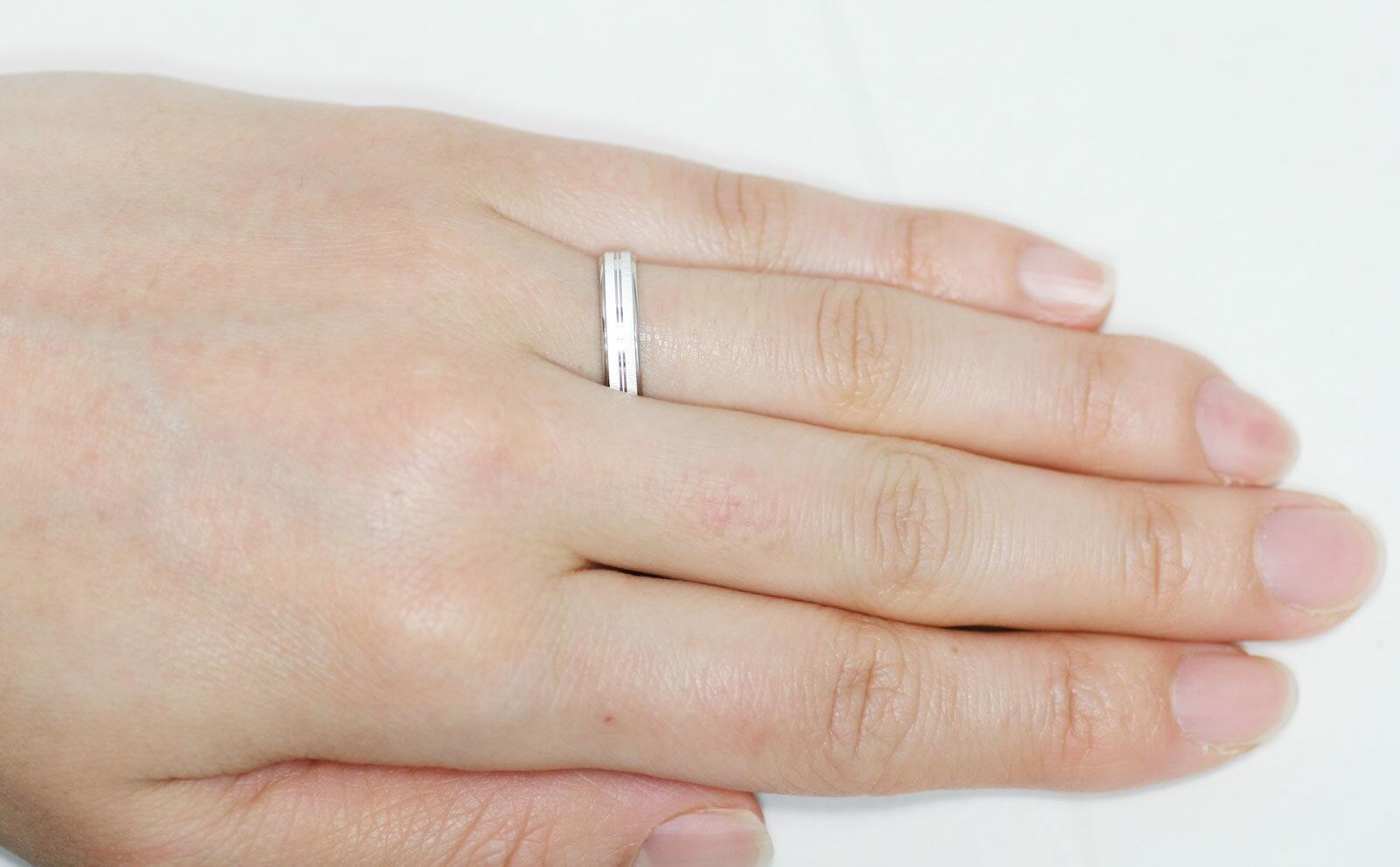 結婚指輪 マリッジリング 「ガイア」 プラチナ...の紹介画像3