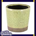 ダルトン カラー グレーズド ポット ライムグリーン 鉢 鉢植え 植木鉢 プランター おしゃれ かわいい シンプル 【 DULTON COLOR GLAZED POT LIME GREEN CH14-G516LGN 】
