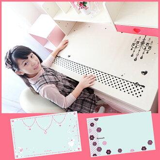 """Desk mat clear """"ClearType ☆ desk mat' Alice chandelier 10P30Nov13 [made in Japan] study desk learning desk study desk entrance celebration dates,"""