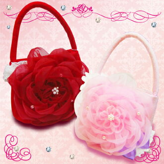 """對錢褡手提包""""手提包結婚典禮慶祝禮物花""""的七五三兒童節日贈品"""