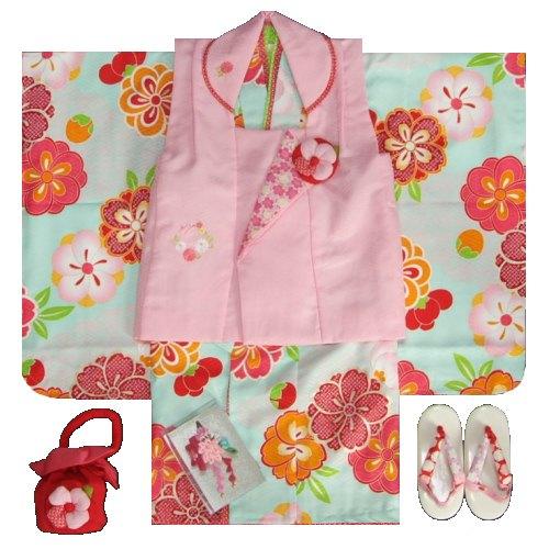 七五三着物 3歳女の子被布セット 式部浪漫ブラン...の商品画像