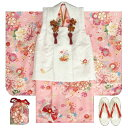 七五三 着物 3歳 女の子被布セット 天使ブランド ピンク ...