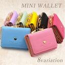 財布 レディース ミニ財布 がま口財布 二つ折り 可愛い 財...