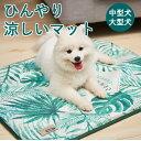 ひんやりマット 中型犬 大型犬 L(80×63) XL (110×80)z-220