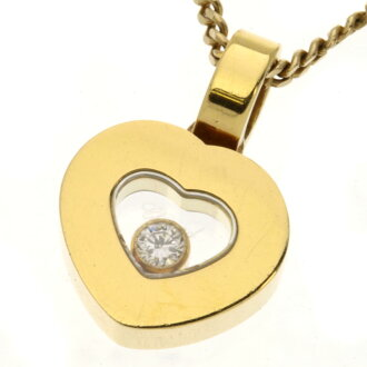 Chopard happy diamond 79/2897-20 gold women's /K14 gold K18 necklace