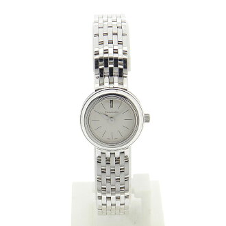 TIFFANY &Co... mark round watch WG ladies