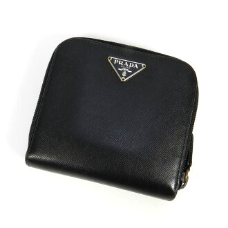 PRADAM521X two bi-fold wallets (purses and) leather ladies
