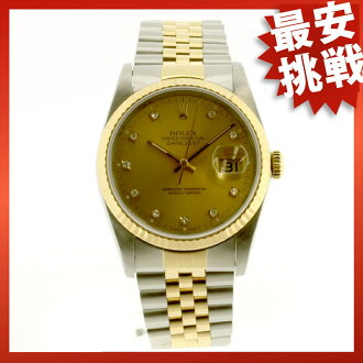 ROLEX16233G old men's watch SS/YG