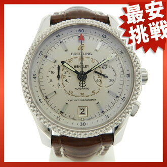 BREITLING Bentley mark 6 mens watch Pt/SS
